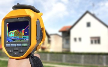 Thermal Image of Home