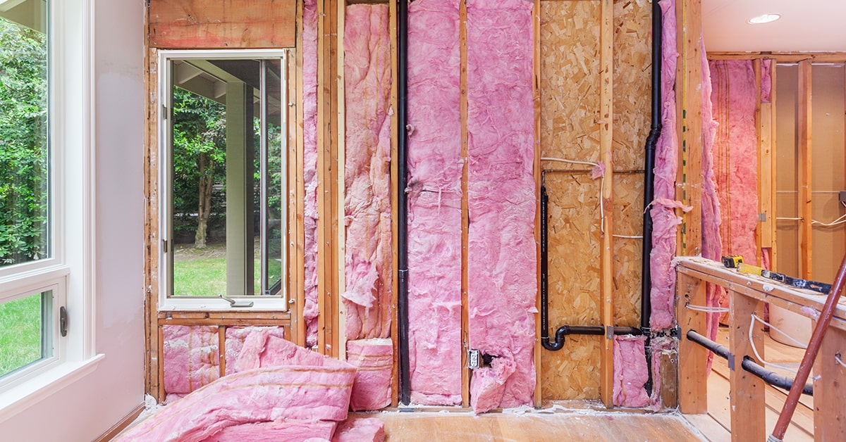 Home Insulation Installation