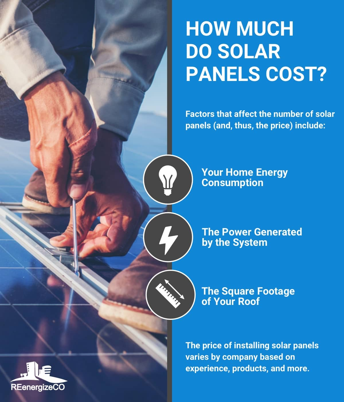 How Much Will I Pay for Solar Panels? | REenergizeCO
